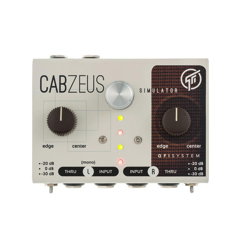 GFI SYSTEM CABZEUS スピーカーシミュレーター DIボックス ギターエフェクター