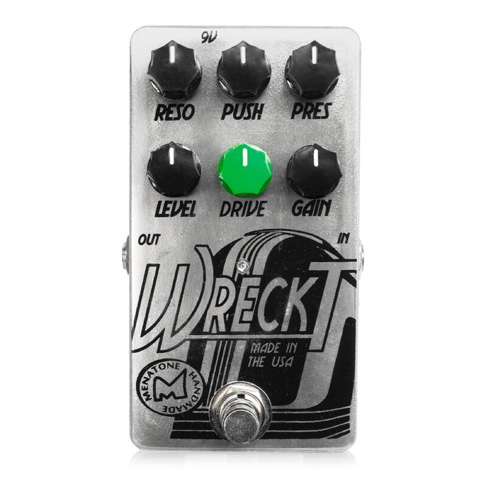 Menatone Wreck't オーバードライブ ギターエフェクター