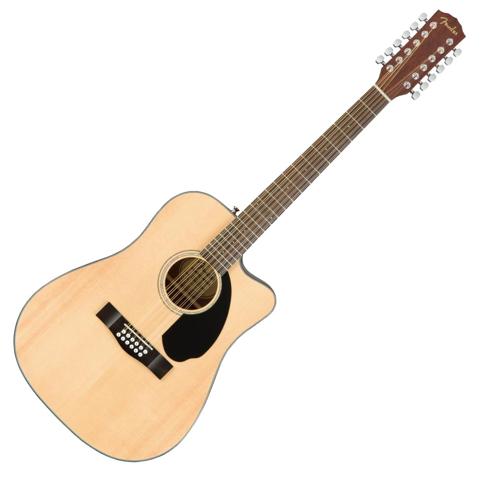 Fender CD-60SCE Dreadnought 12 string WN Natural 12弦アコースティックギター