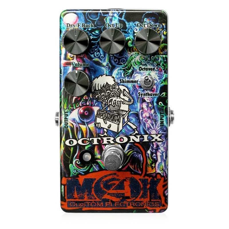 MAK crazy sound technology Octronix ギターエフェクター