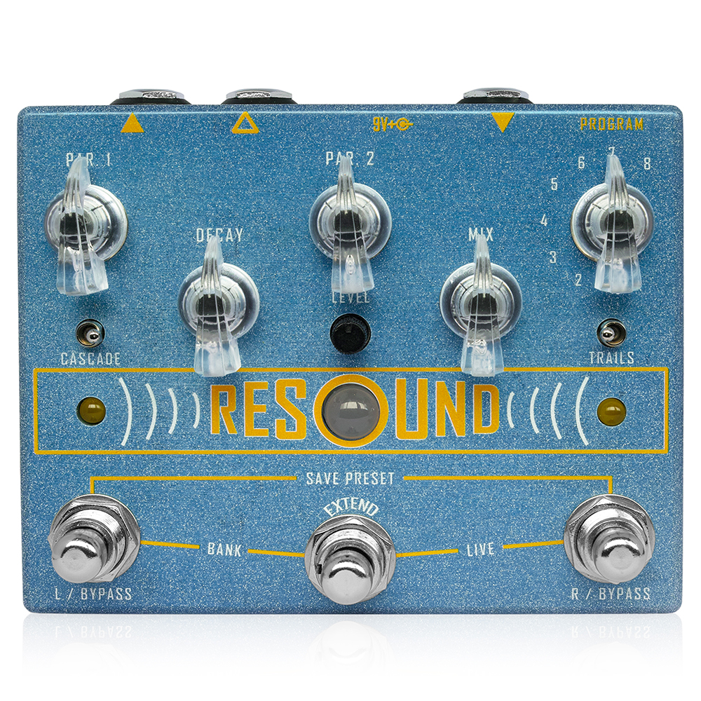 Cusack Music Cusack Music Resound Resound 多機能リバーブペダル ギターエフェクター, エアガン卸売直営良品武品:cc3dbe83 --- sunward.msk.ru
