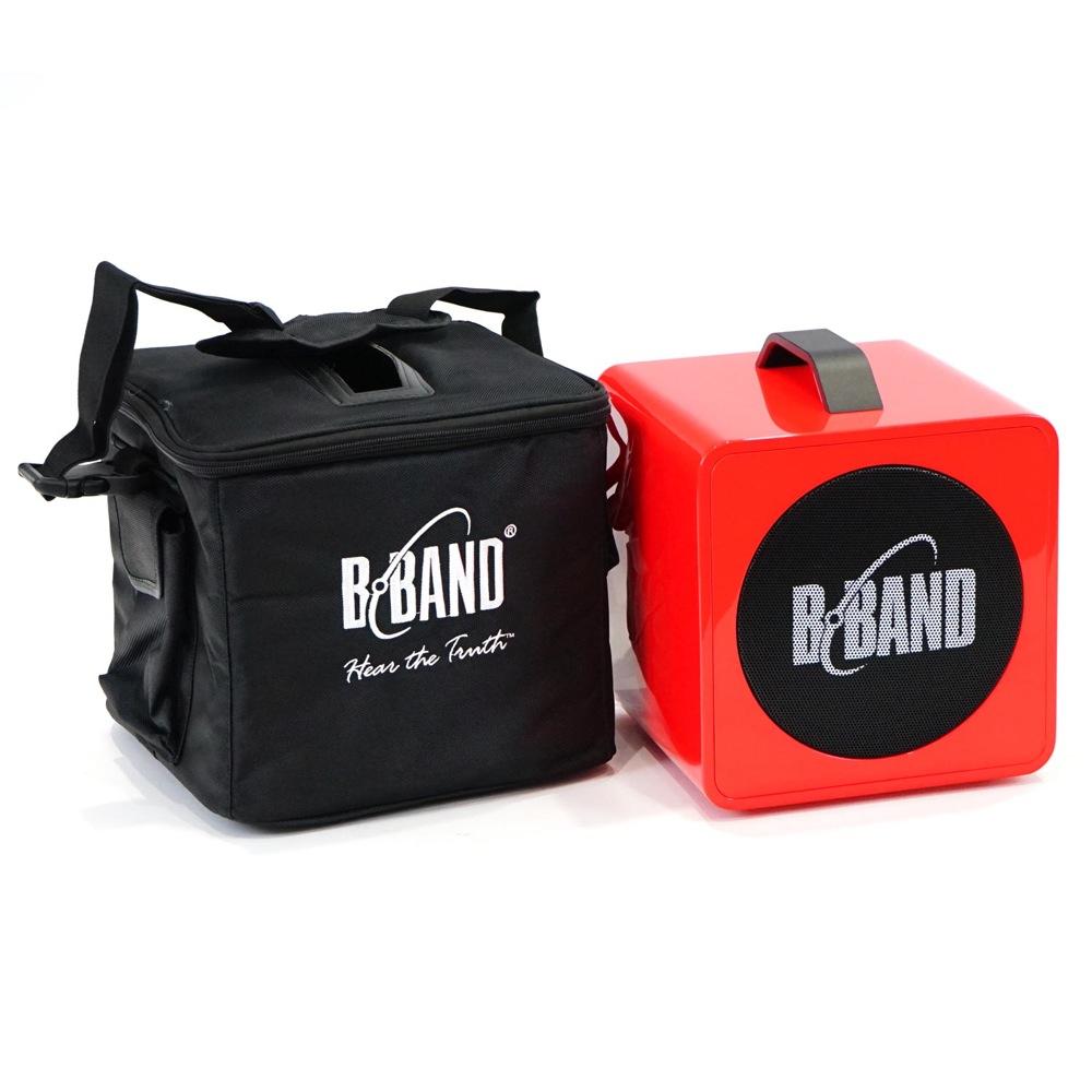 B-BAND AC45J Red ポータブルアンプ 【中古】