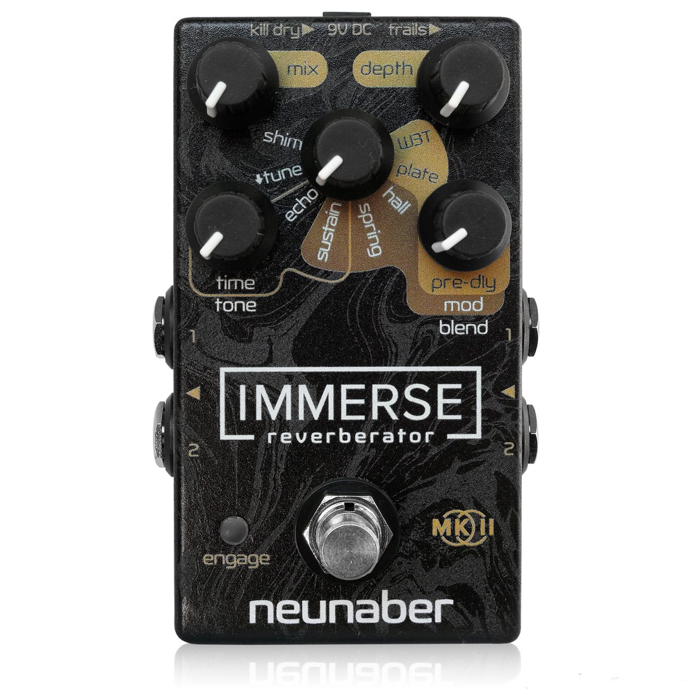 Neunaber Audio Effects Immerse Reverberator MkII ギターエフェクター