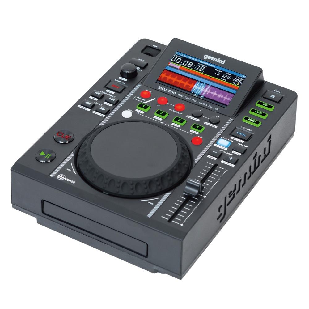 GEMINI MDJ-600 DJ用 CD/USB メディアプレーヤー
