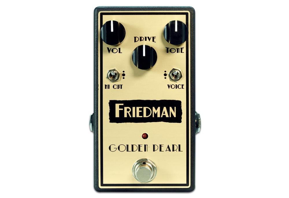 Friedman GOLDEN-PEARL ギターエフェクター