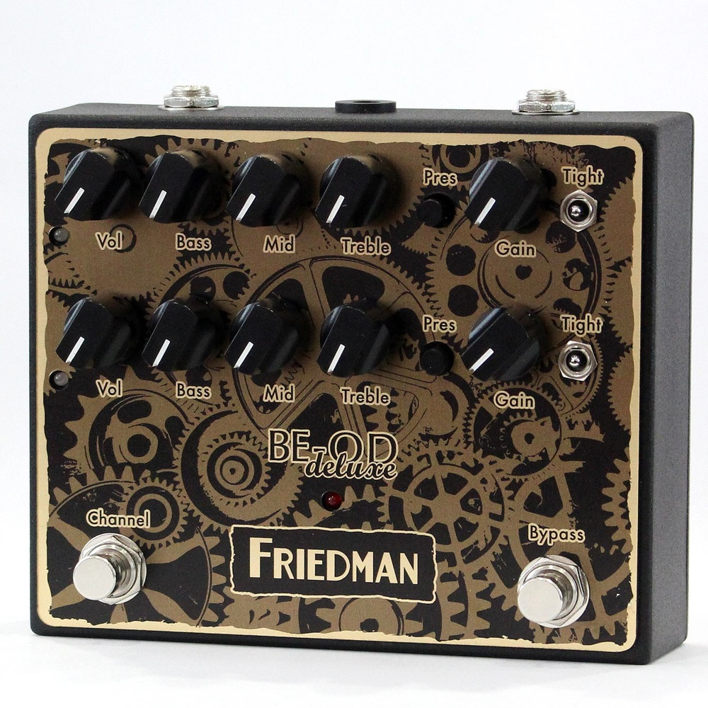 Friedman BE-OD DELUXE CLOCKWORKS EDITION ギターエフェクター