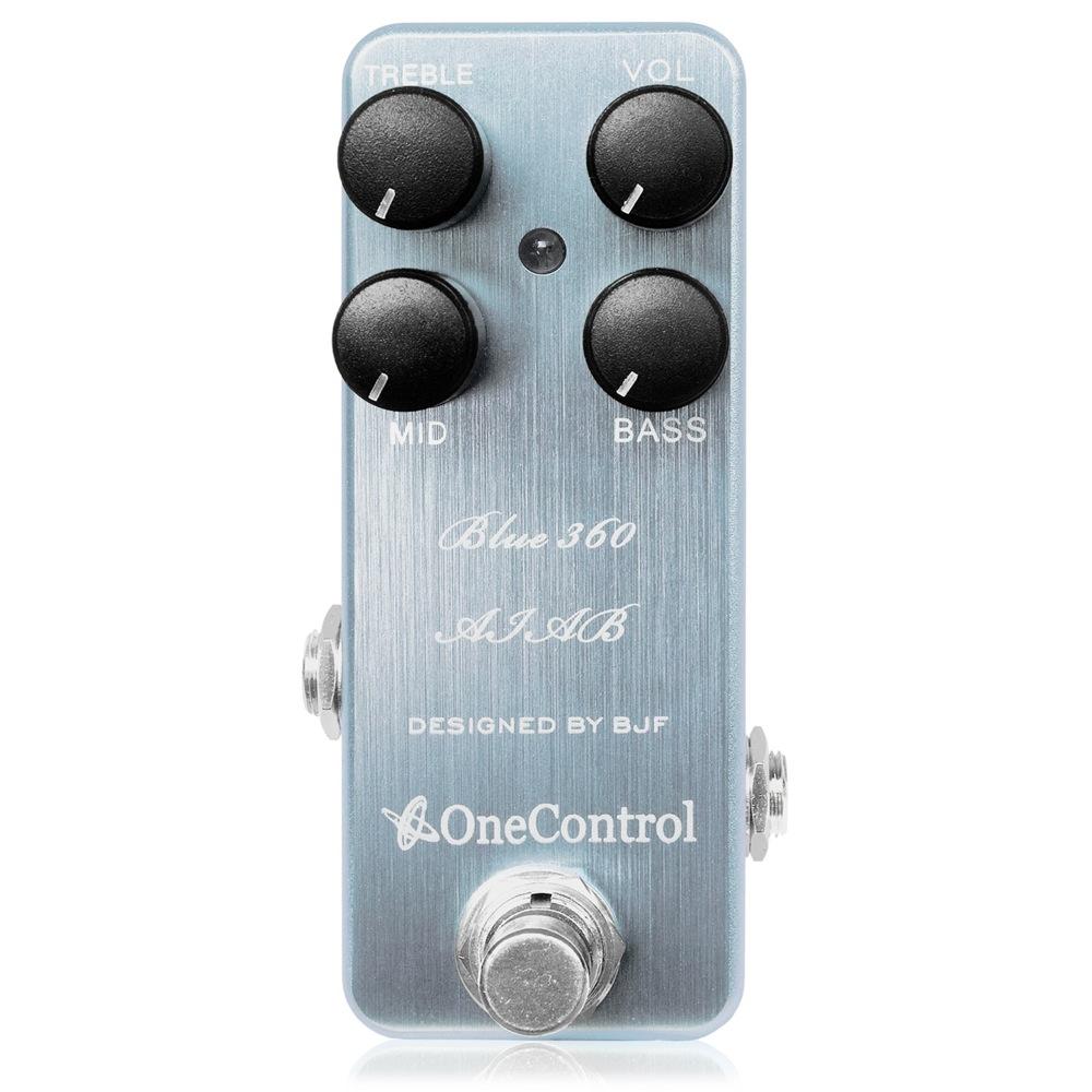 One Control Blue 360 AIAB ベース用プリアンプ ベースエフェクター