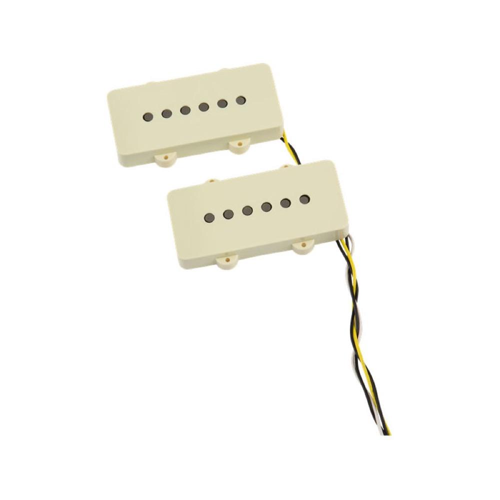 Fender V-Mod Jazzmaster Pickup Set Aged White エレキギター用ピックアップ