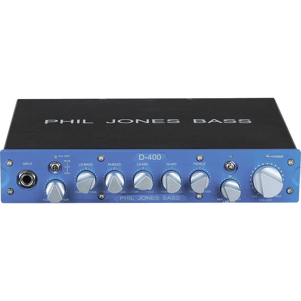PHIL JONES BASS D-400 Mod. Blue コンパクトベースアンプヘッド