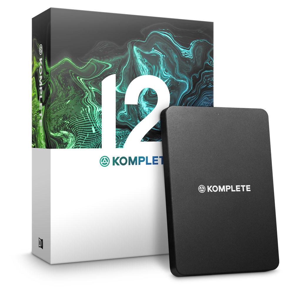 NATIVE INSTRUMENTS KOMPLETE 12 ソフトウェア