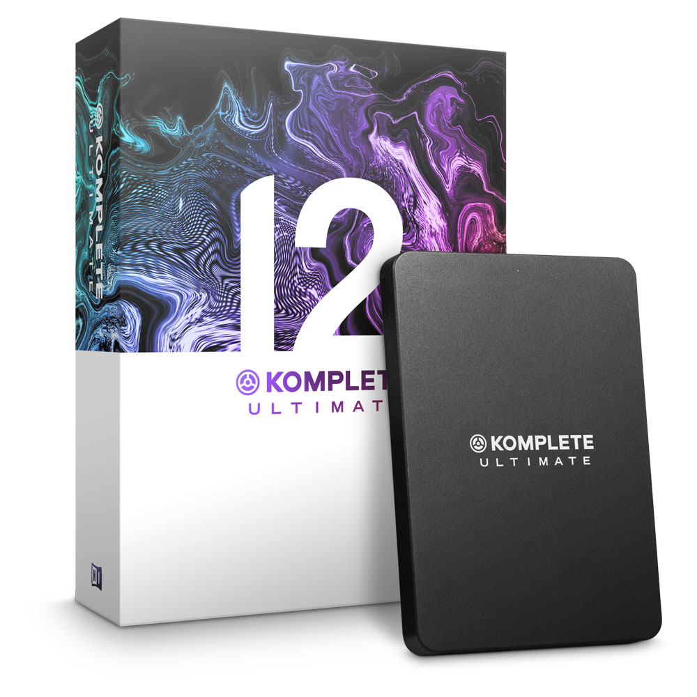 【アップデート版】 NATIVE INSTRUMENTS KOMPLETE 12 ULTIMATE UPD ソフトウェア