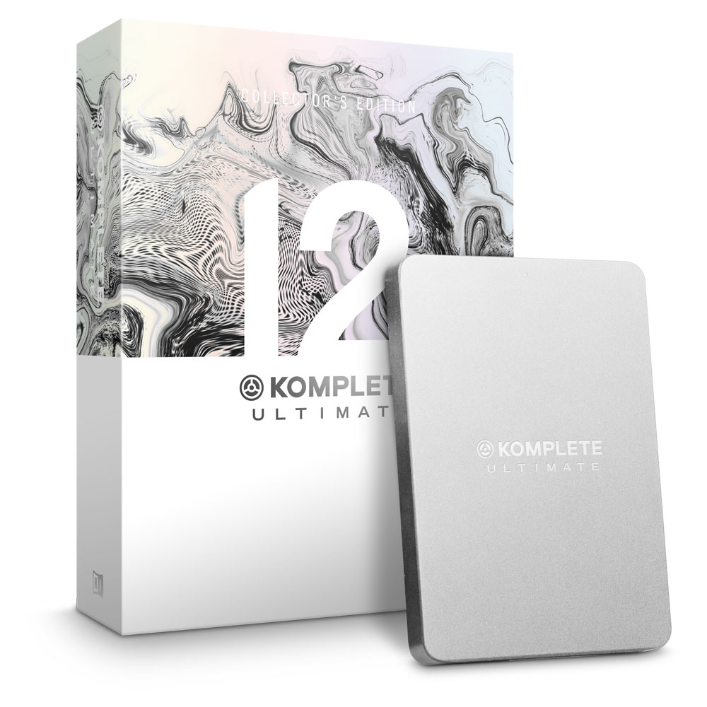 【アップグレード版】 NATIVE INSTRUMENTS KOMPLETE 12 ULTIMATE Collectors Edition UPG FOR KU8-12 ソフトウェア