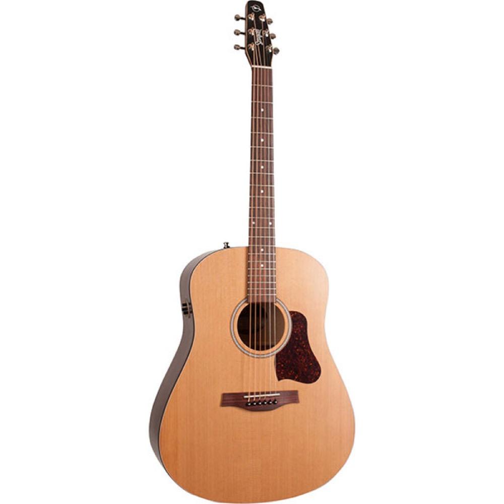 Seagull S6 Cedar Original Slim Q1T エレクトリックアコースティックギター