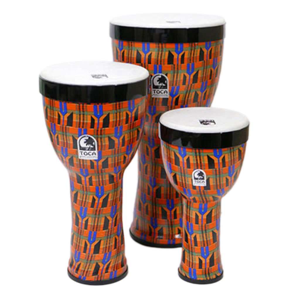 TOCA TF2ND-3PCK FREESTYLE II 3PC NESTING DJEMBE KENTE ジャンベ 3サイズセット 8/10/12インチ
