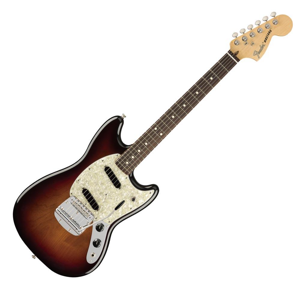 Fender American Performer Mustang RW 3TSB エレキギター