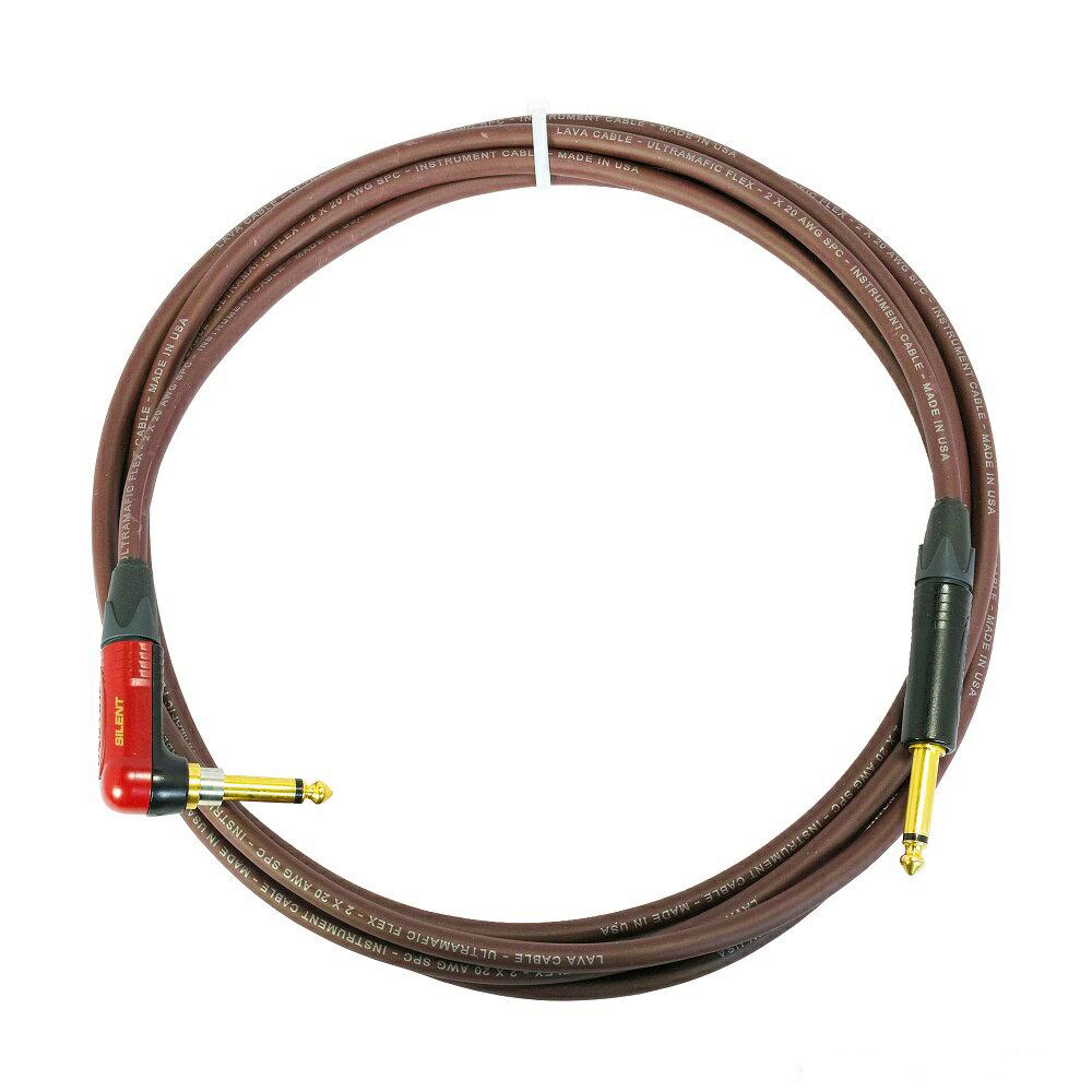 Lava Cable Ultramafic Flex S-L 6.0m LCUFLX20R ギターケーブル