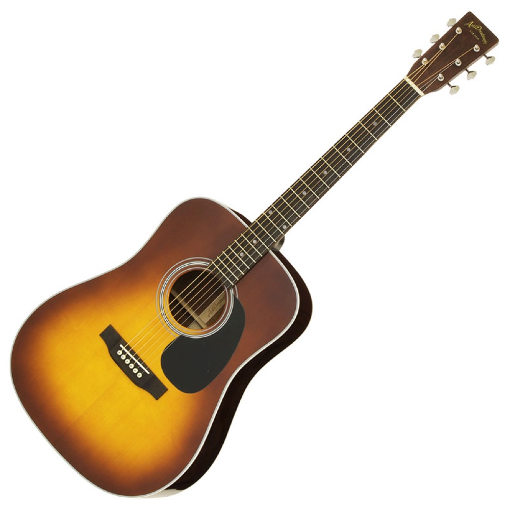 ARIA AD-40LTD SB Aria Dreadnought アコースティックギター
