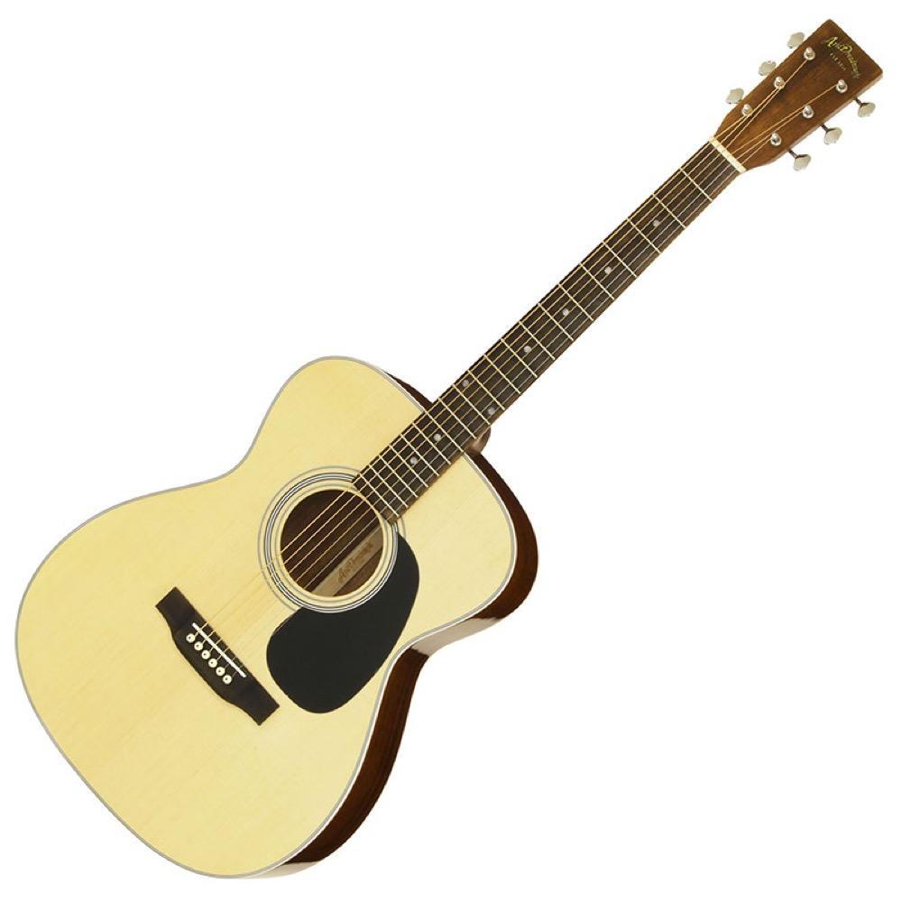 ARIA AF-40LTD N Aria Dreadnought アコースティックギター