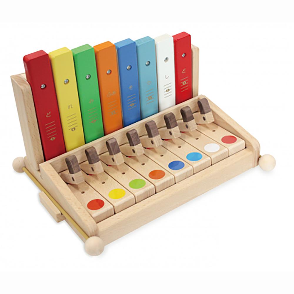 KAWAI U 9052 シロホンピアノ 木琴とピアノの2種類で遊べる楽器玩具