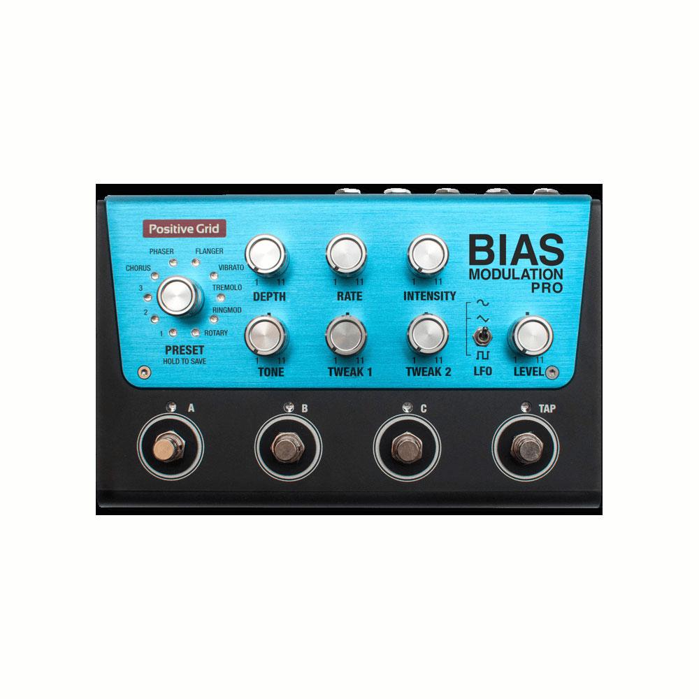 Positive Grid BIAS MODULATION Tone Match Modulation Pedal 4 Button ギターエフェクター