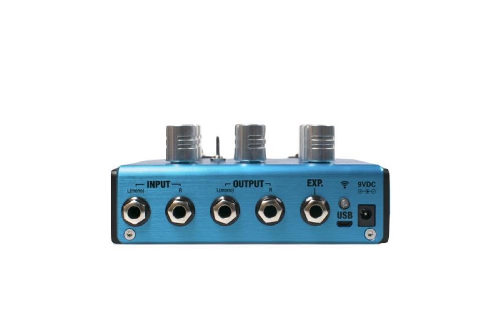 Positive Grid BIAS MODULATION Twin Tone Match Modulation Pedal 2 Button  guitar effector
