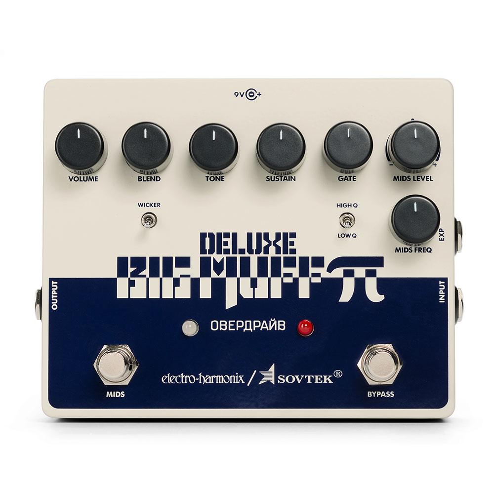 ELECTRO-HARMONIX Sovtek Deluxe Big Muff Pi Distortion/Sustainer ギターエフェクター