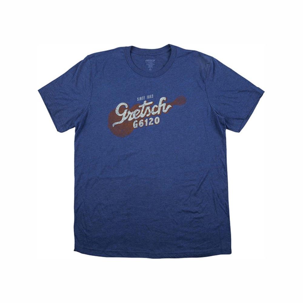 Gretsch G6120 Tee Navy M size Tシャツ