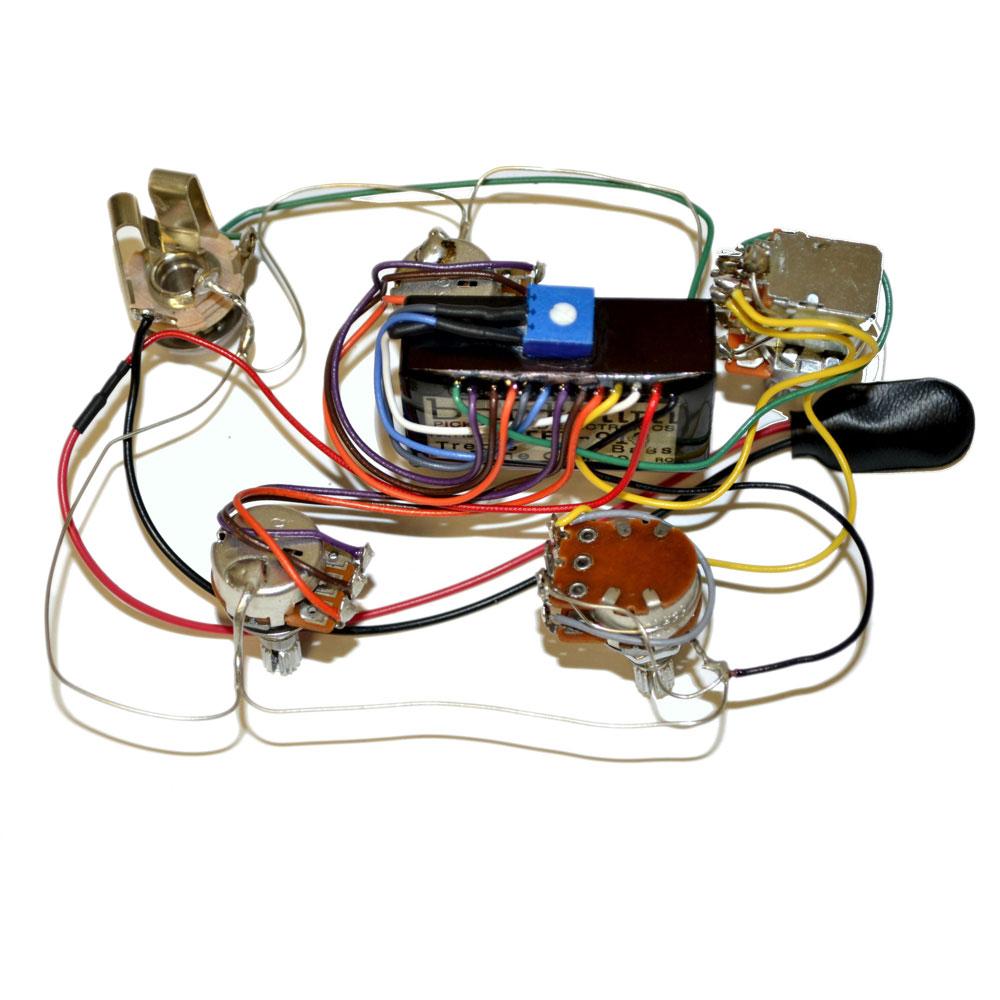 Bartolini HR-4.5AP 918 配線済みプリアンプ+コントロール セット