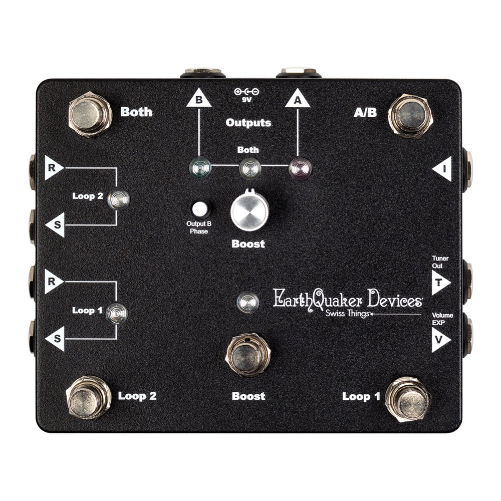 EarthQuaker Devices Swiss Things エフェクトループ スイッチャー