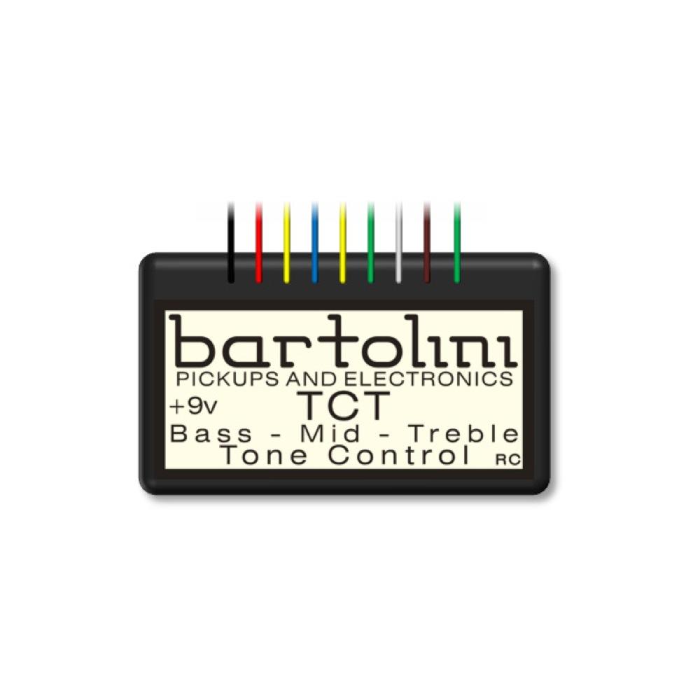 Bartolini TCT ベース用EQ プリアンプ