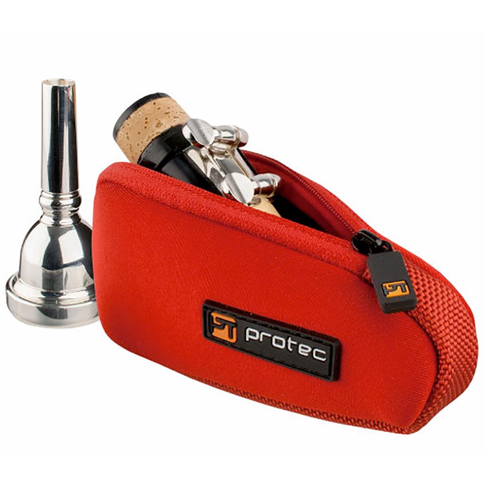 プロテック 管楽器用マウスピース ケース 赤 PROTEC N264RX マウスピース用ポーチ クラリネット 定番 レッド アルトサックス トロンボーン 新色