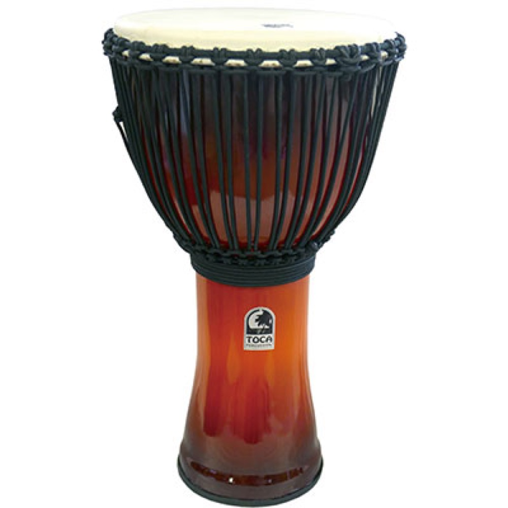 TOCA SFDJ-14AFSB Freestyle Roped Tuned Djembe 14 AF SNST ジャンベ