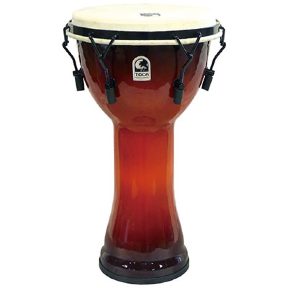 TOCA SFDMX-10AFS Freestyle Mechanically Tuned Djembe 10 AF SNST ジャンベ