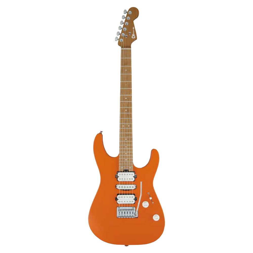 CHARVEL Pro-Mod Series Dinky DK24 HSH 2PT CM Satin Orange Crush エレキギター
