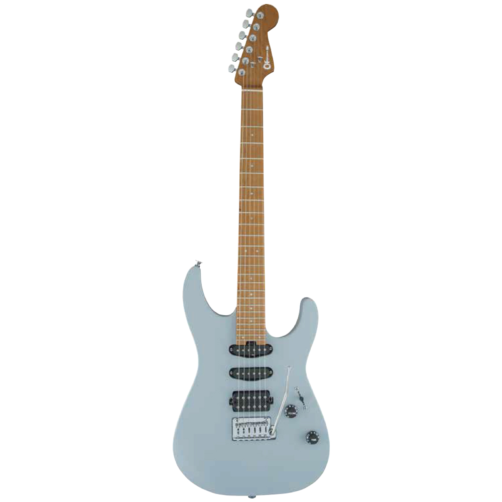 CHARVEL Pro-Mod Series Dinky DK24 HSS 2PT CM Primer Gray エレキギター