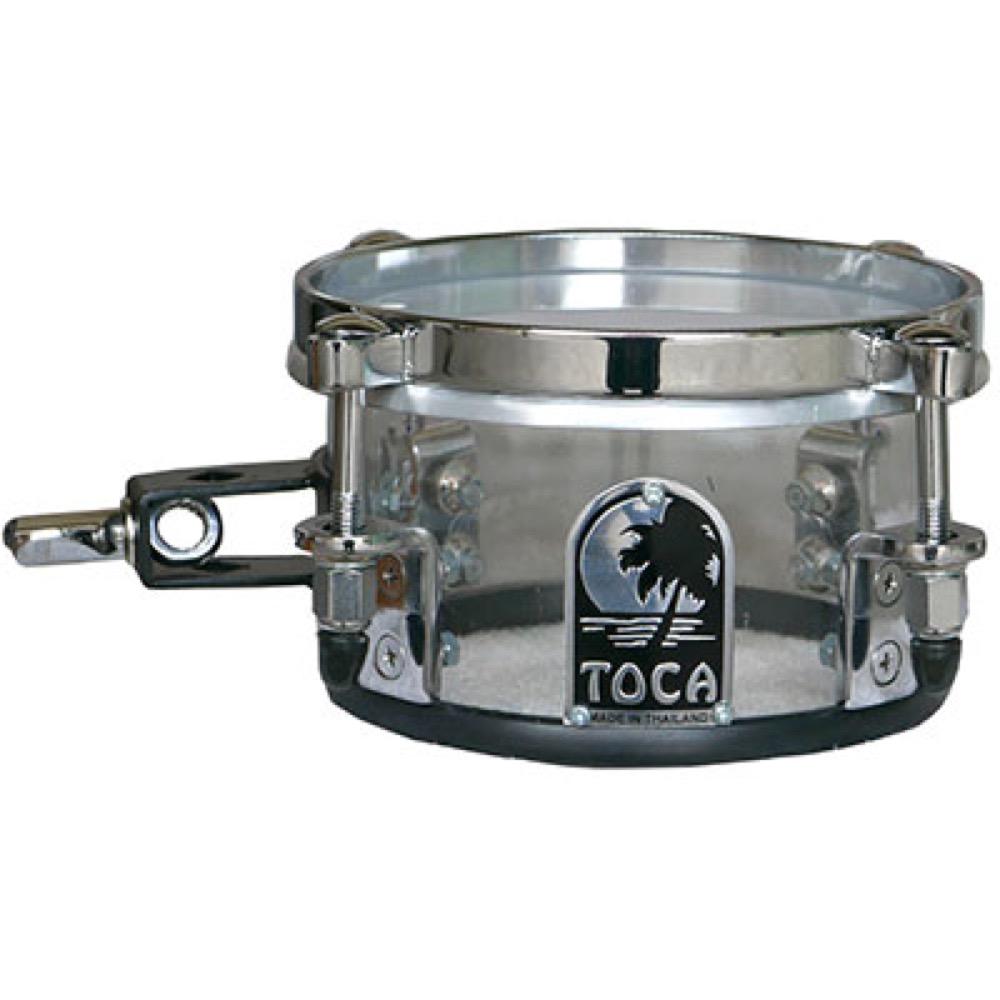 TOCA T-406AC Acrylic Mini Timbales Clear ティンバレス