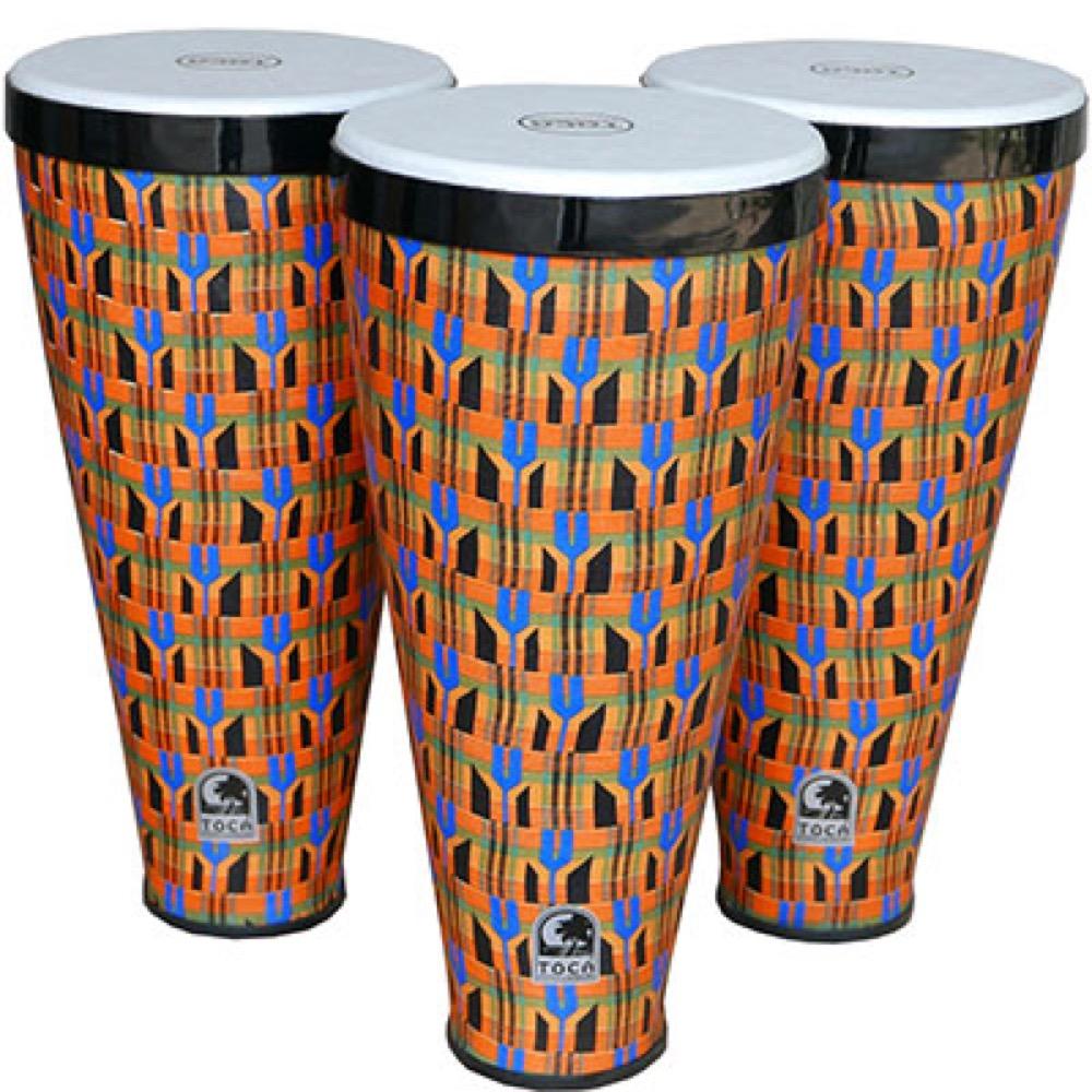 TOCA TFLEX-3K Flex Drum with Strap KENTE 3本セット フレックスドラム