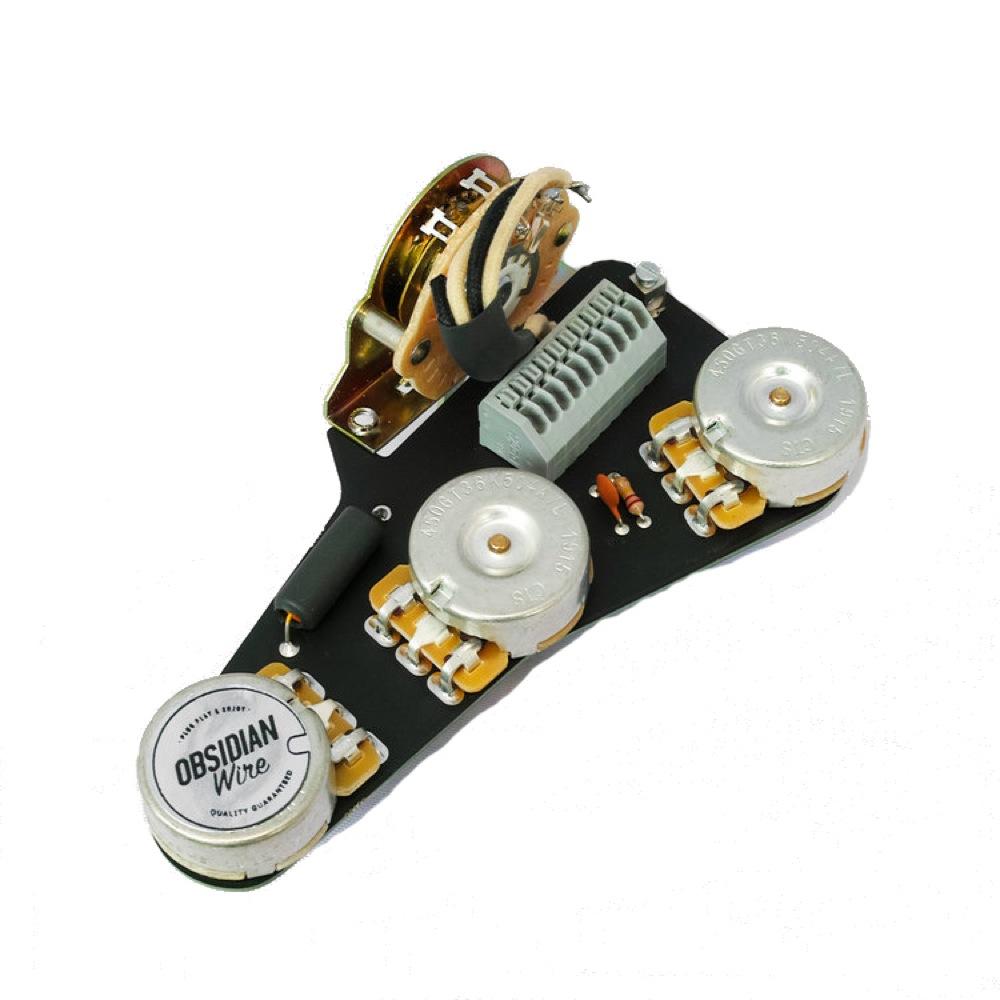 ObsidianWire Custom Blender for Strat 500k 0.022uF エレキギターパーツ