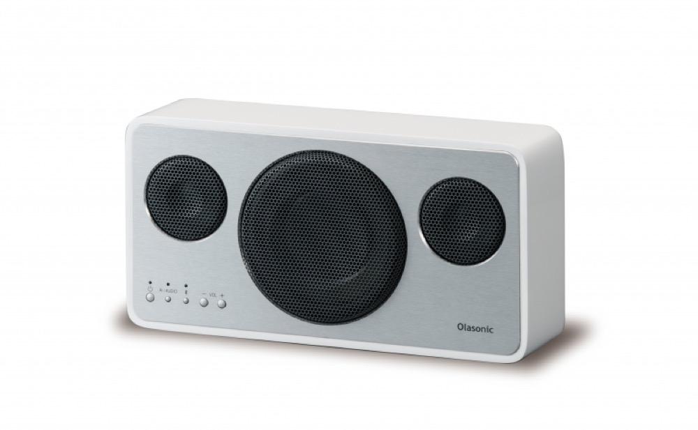 Olasonic IA-BT7 シルクホワイト Bluetooth スピーカー