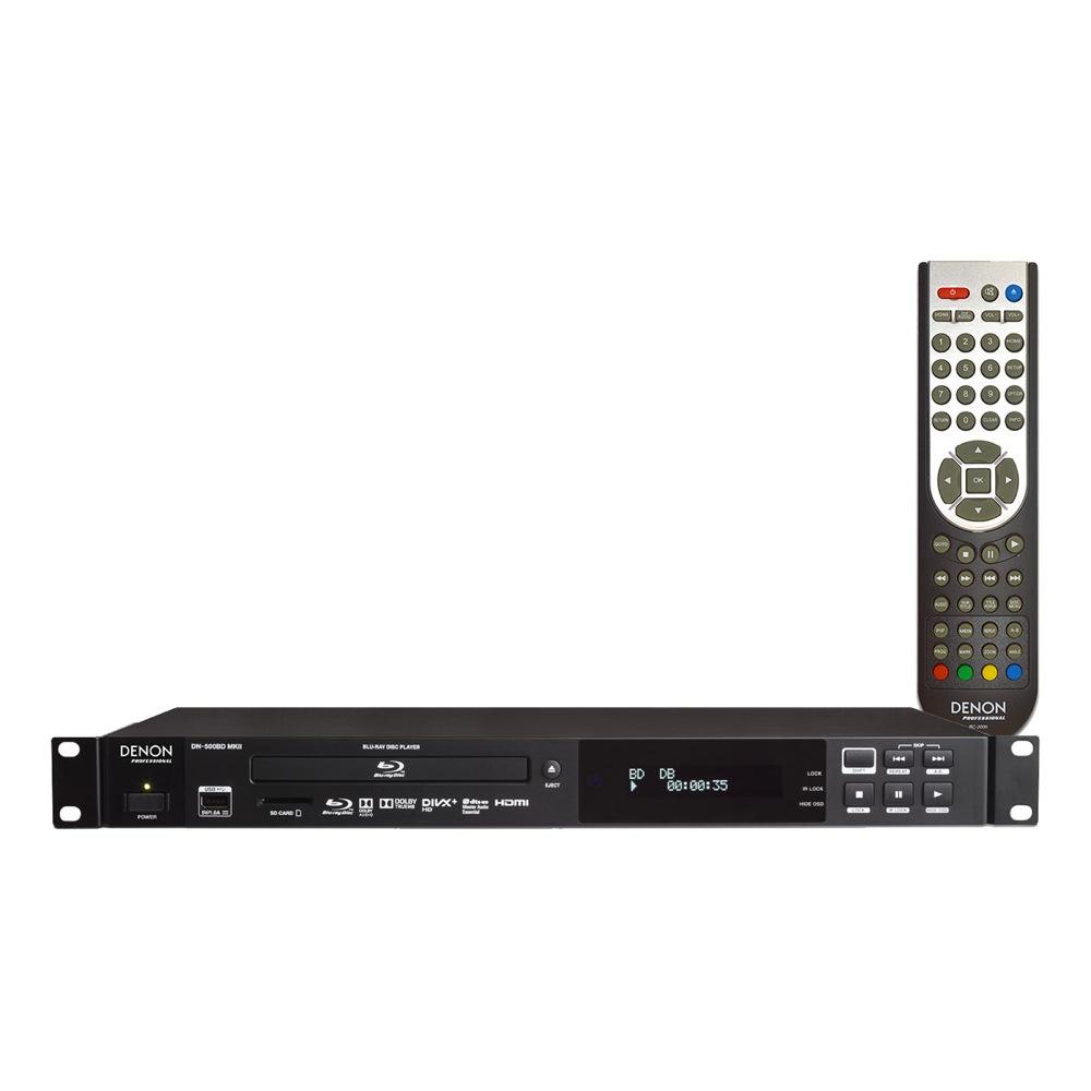 DENON Professional DN-500BD MKII Blue-ray DVD CD/SD/USB メディアプレーヤー