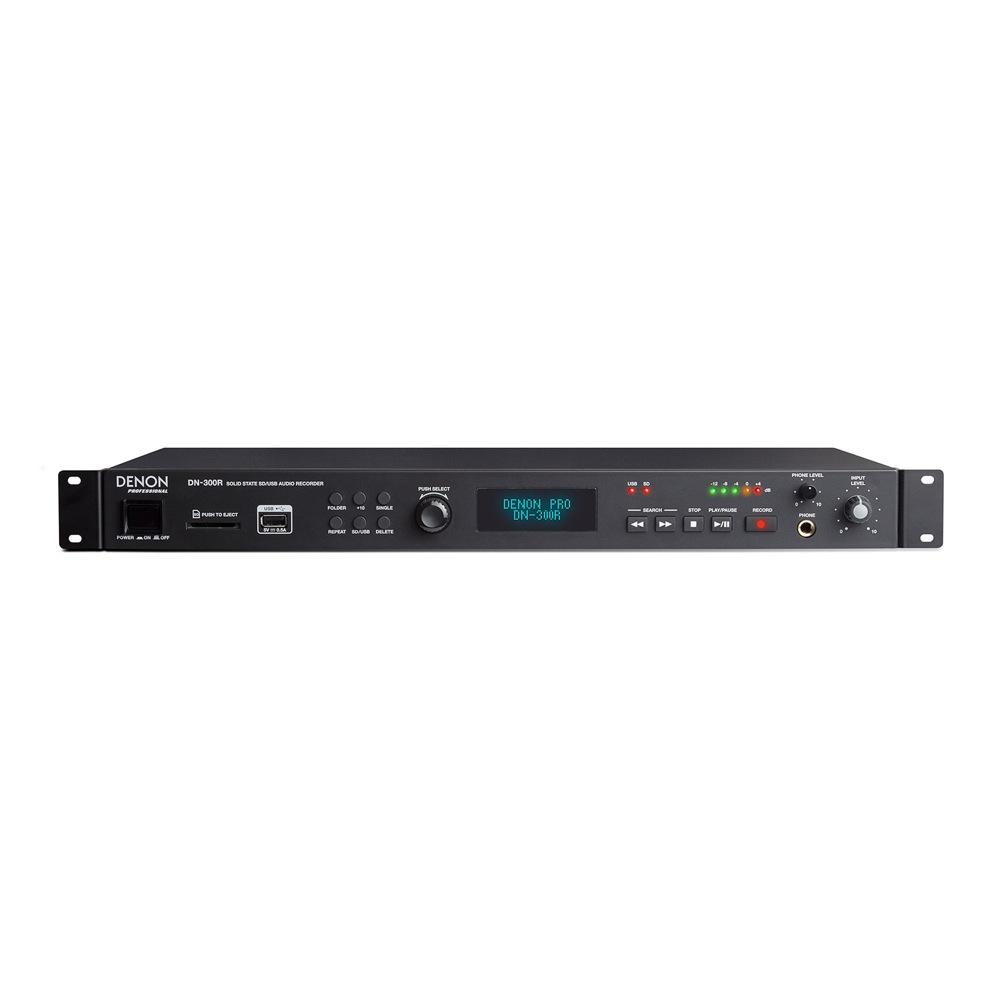 DENON Professional DN-300R SD/USB対応 メディアレコーダー