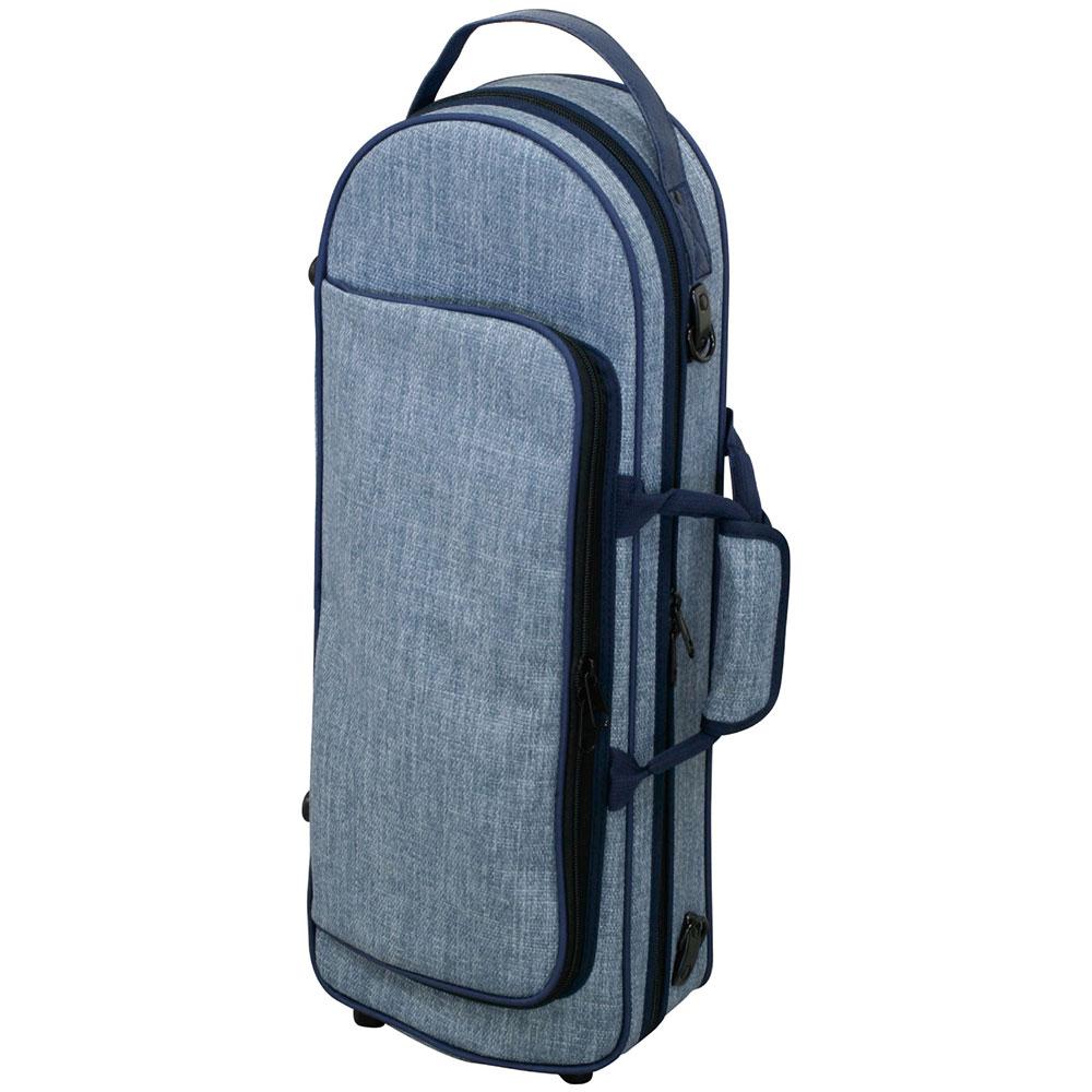 KIKUTANI TR-Tweed L.BLU ツイード製トランペットケース