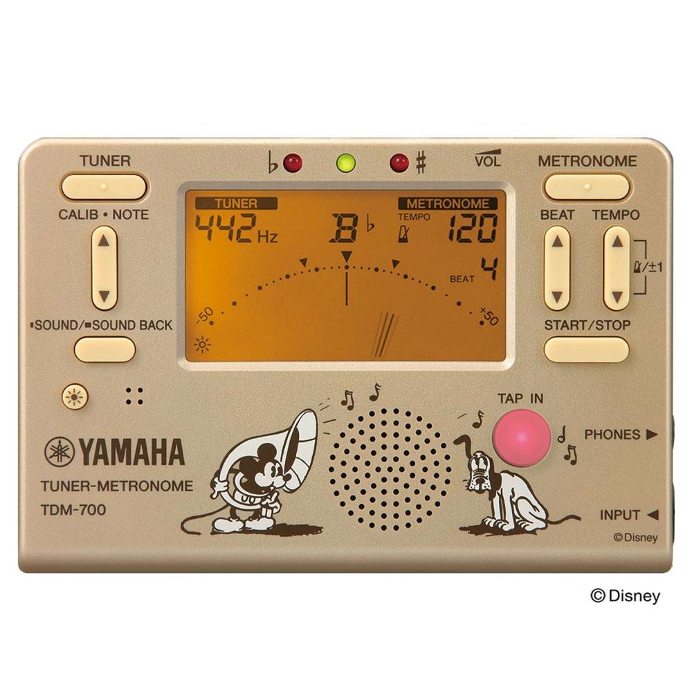 ヤマハ 限定ディズニーモデル 超安い 入門用にもお勧めチューナー YAMAHA TDM-700DMK 高品質新品 ミッキーマウス メトロノーム ディズニー チューナー
