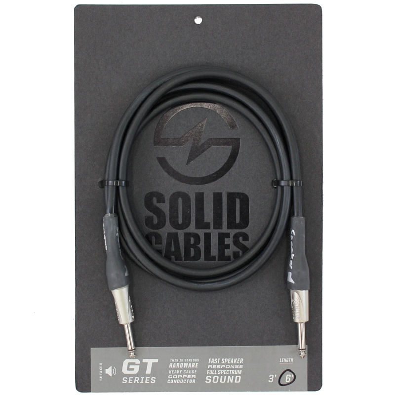 SOLID CABLES GT Speaker Cable SS 6f(約1.8m) スピーカーケーブル