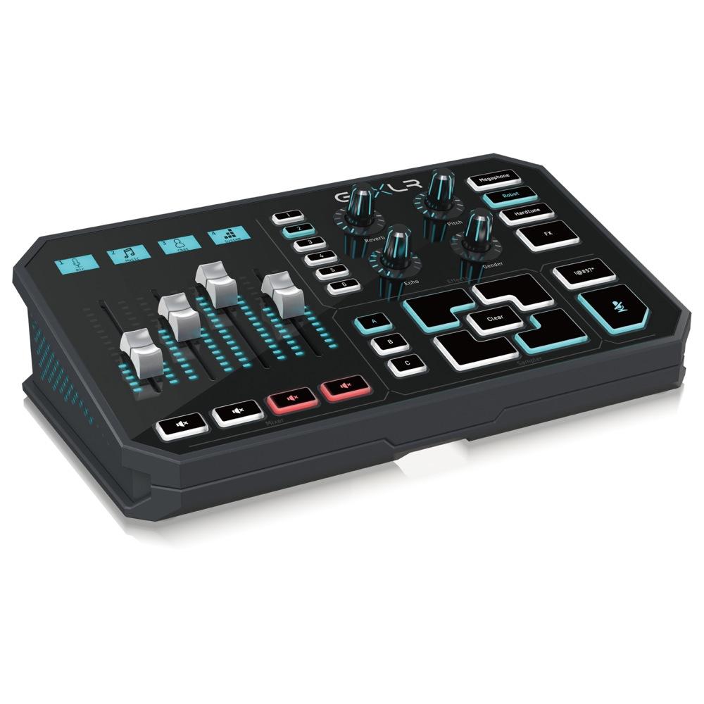 TC-HELICON GO XLR 4chミキサー搭載 電動フェーダー サウンドボード ボーカルエフェクト