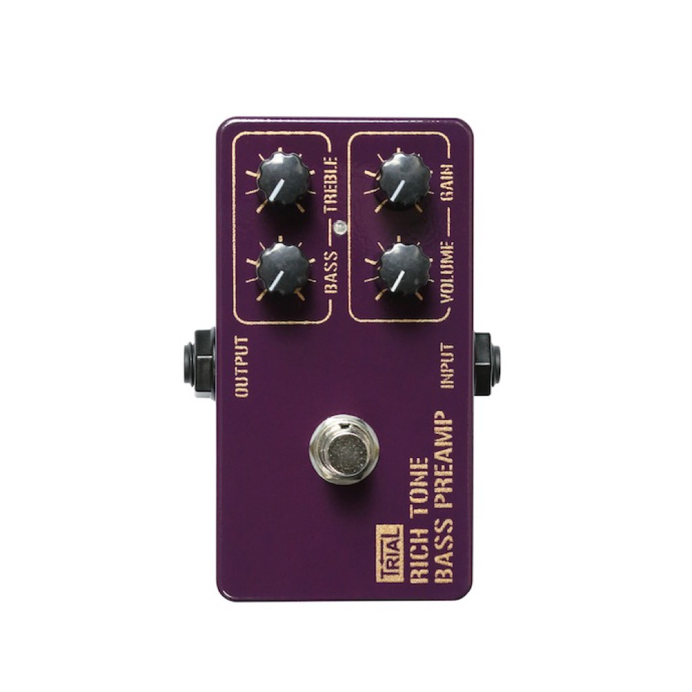 TRIAL RICH TONE BASS PREAMP ベースプリアンプ