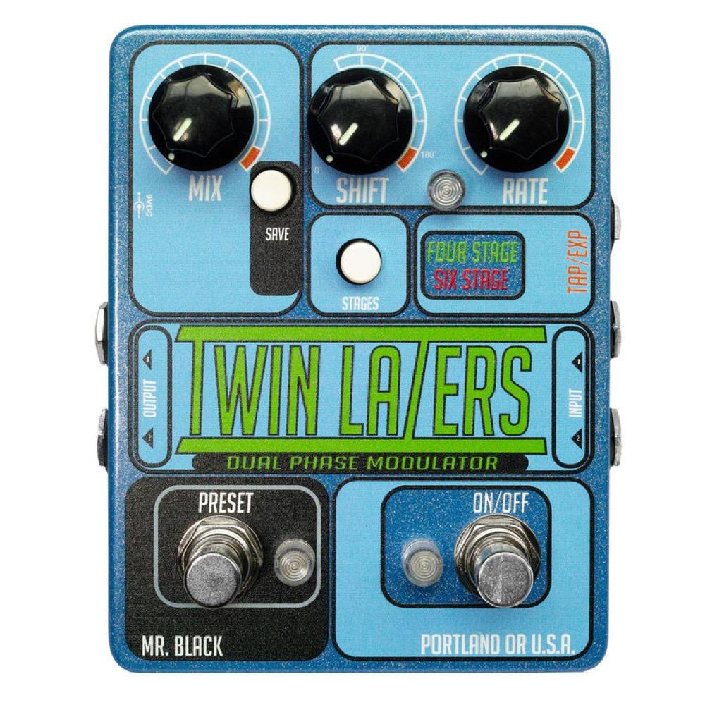 Mr. Black Twin Lazers フェイザー ギターエフェクター