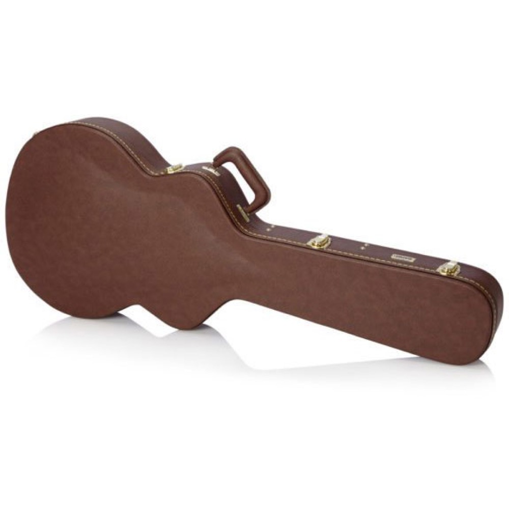 GATOR GW-335-BROWN セミアコースティックギター用ハードケース