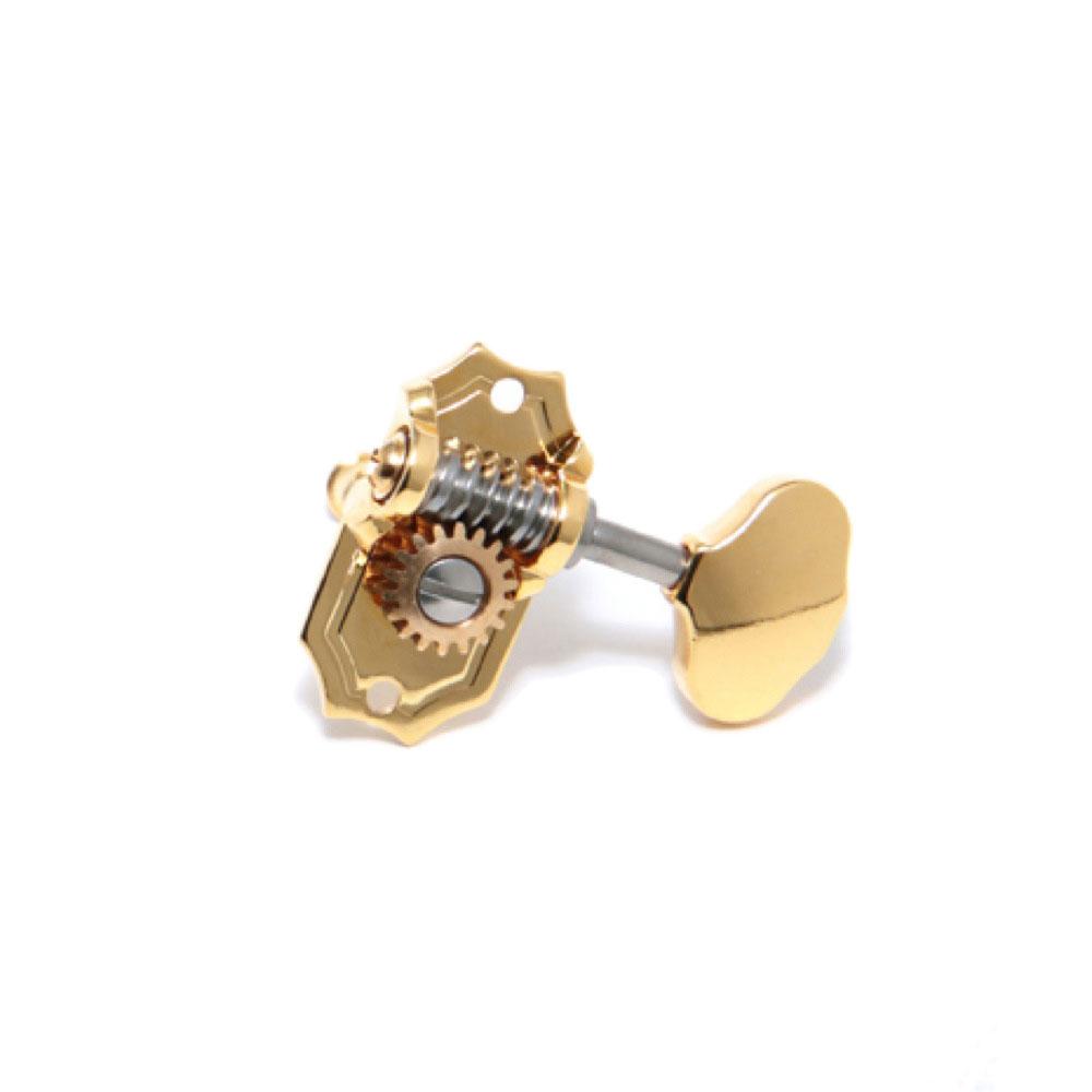 KLUSON 3 per Side/Ornate Button/Gold/Prestige ギターペグ