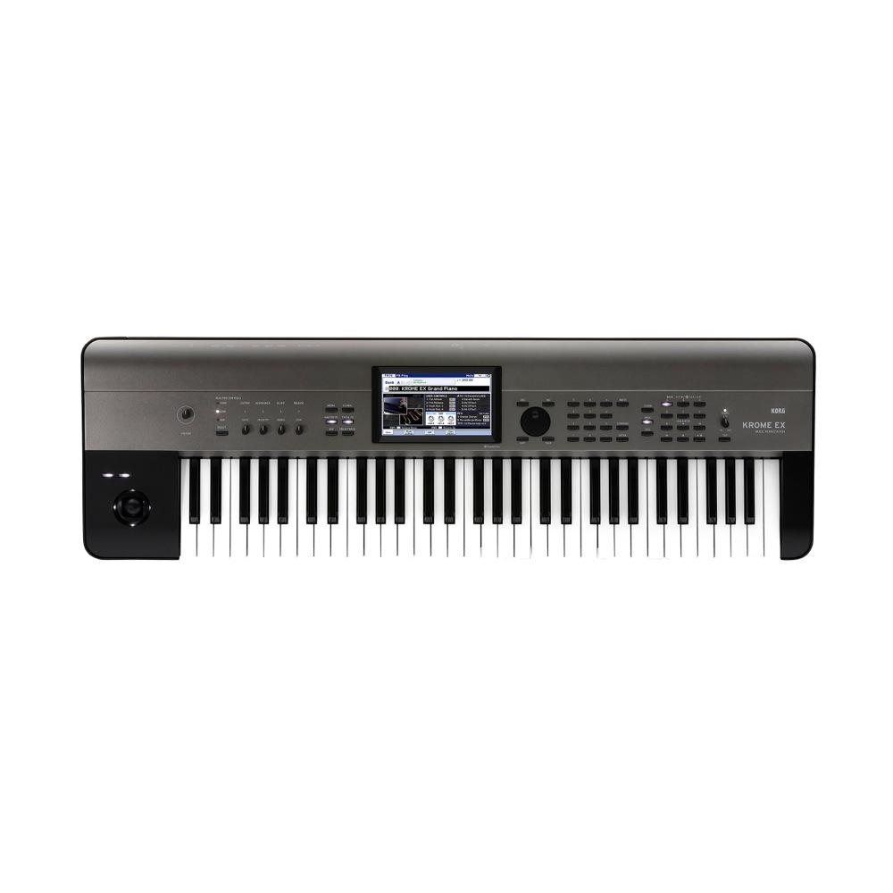 KORG KROME-61 EX シンセサイザー 61鍵盤 ワークステーション